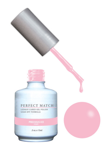 PERFECT MATCH Gel Polish + Lacquer - PMS168 Precious Ice