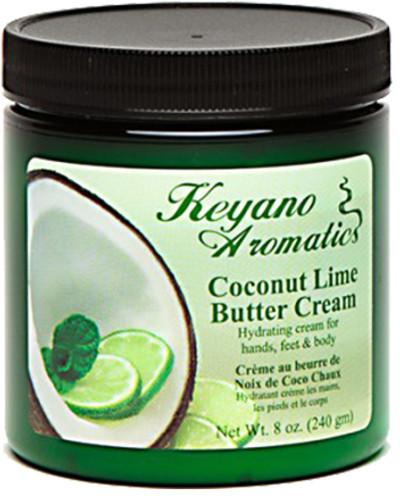 Keyano Manicure & Pedicure - Coconut Lime Butter Cream 8oz