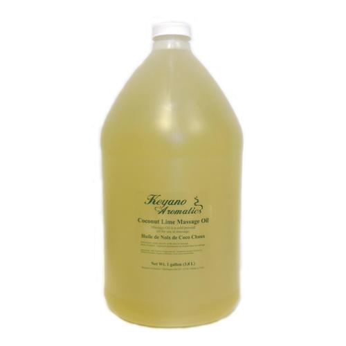 Keyano Manicure & Pedicure - Coconut Lime Massage Oil 1 Gal