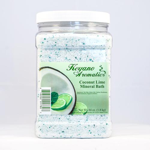 Keyano Manicure & Pedicure - Coconut Lime Mineral Bath 64 oz