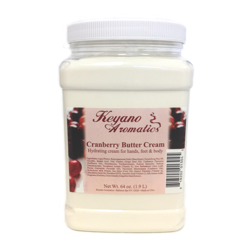 Keyano Manicure & Pedicure - Cranberry Butter Cream 64 oz
