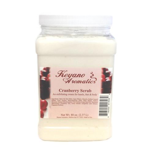 Keyano Manicure & Pedicure - Cranberry Scrub 80 oz
