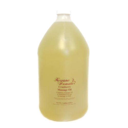 Keyano Manicure & Pedicure - Cranberry Massage Oil 1 Gal