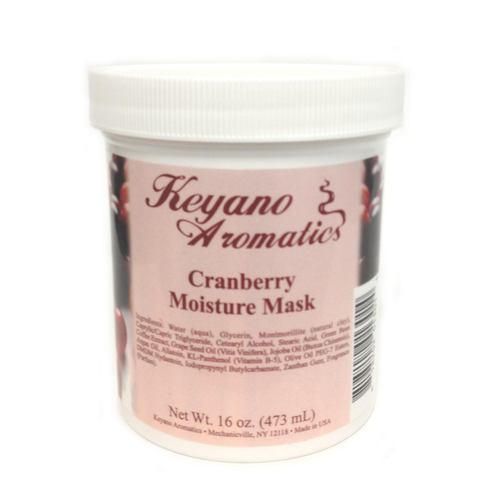 Keyano Manicure & Pedicure - Cranberry Moisture Mask 16 oz