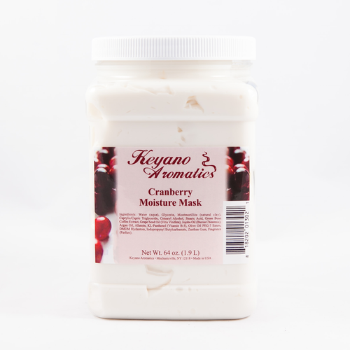 Keyano Manicure & Pedicure - Cranberry Moisture Mask 64 oz
