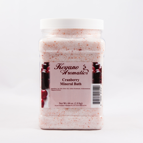 Keyano Manicure & Pedicure - Cranberry Mineral Bath 64 oz