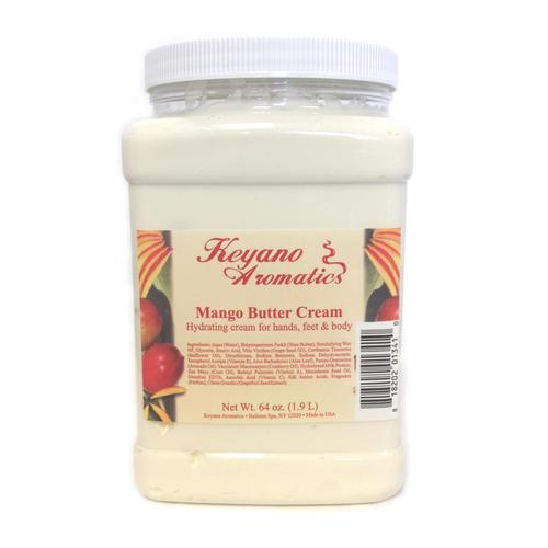 Keyano Manicure & Pedicure - Mango Butter Cream 64 oz