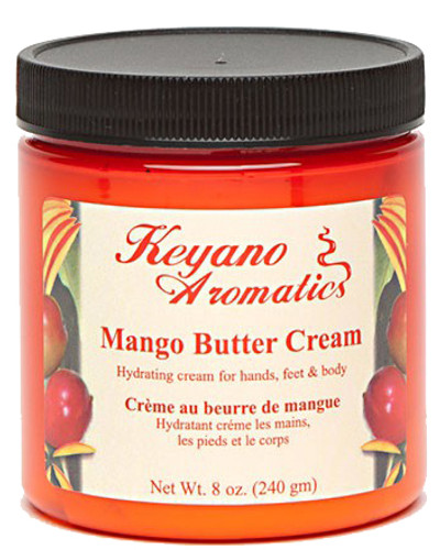 Keyano Manicure & Pedicure - Mango Butter Cream 8 oz