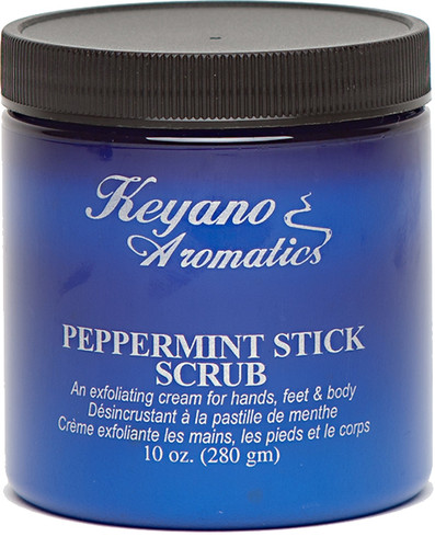 Keyano Manicure & Pedicure - Peppermint Stick Scrub 10 oz