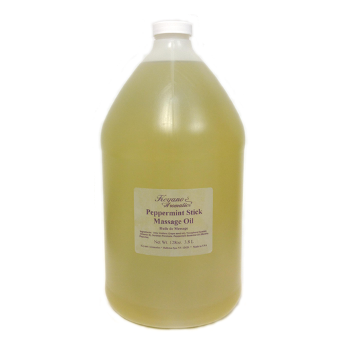 Keyano Manicure & Pedicure - Peppermint Stick Massage Oil 1 Gal