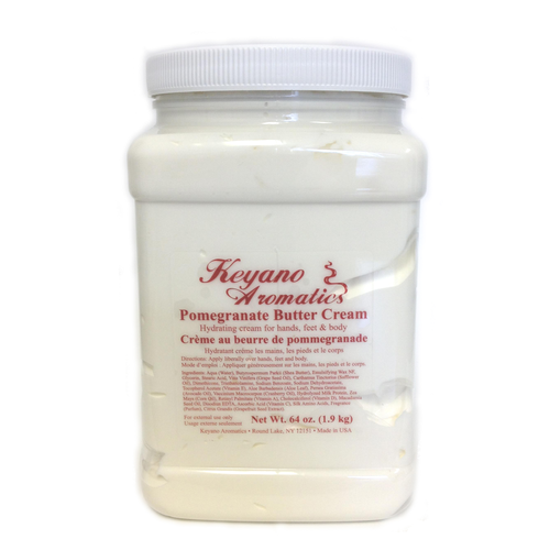 Keyano Manicure & Pedicure - Pomegranate Butter Cream 64 oz