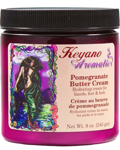 Keyano Manicure & Pedicure - Pomegranate Butter Cream 8oz