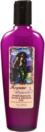 Keyano Manicure & Pedicure - Pomegranate Bath & Shower Gel 8oz