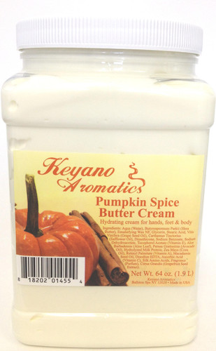 Keyano Manicure & Pedicure - Pumpkin Spice Butter Cream 64 oz