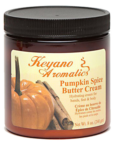 Keyano Manicure & Pedicure - Pumpkin Spice Butter Cream 8 oz