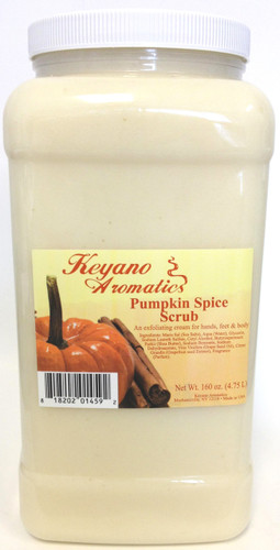 Keyano Manicure & Pedicure - Pumpkin Spice Scrub 1 Gal