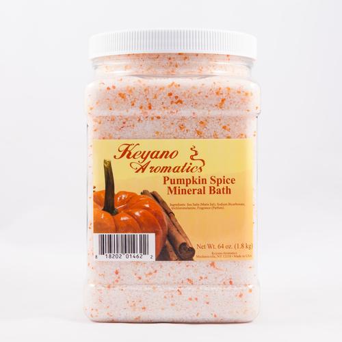 Keyano Manicure & Pedicure - Pumpkin Spice Mineral Bath 64 oz