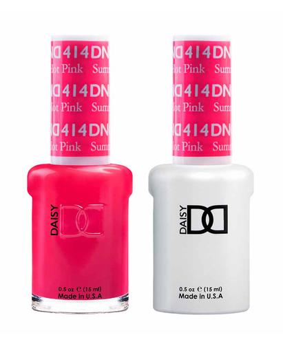 DND Duo Gel - G414 SUMMER HOT PINK