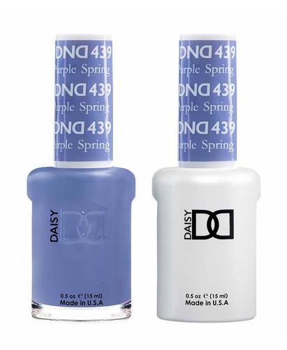 DND Duo Gel - G439 PURPLE SPRING
