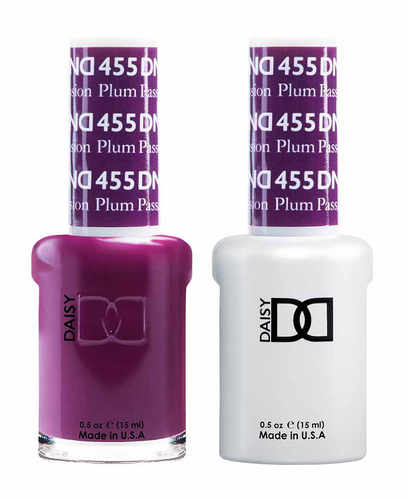 DND Duo Gel - G455 PLUM PASSION