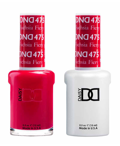 DND Duo Gel - #475 FIERY FUCHSIA
