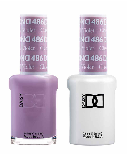 DND Duo Gel - G486 CLASSICAL VIOLET