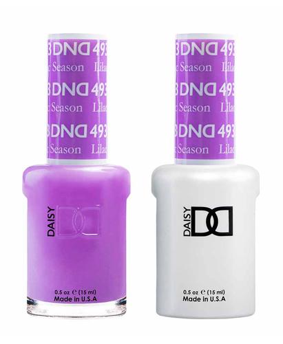 DND Duo Gel - G493 LILAC SEASON