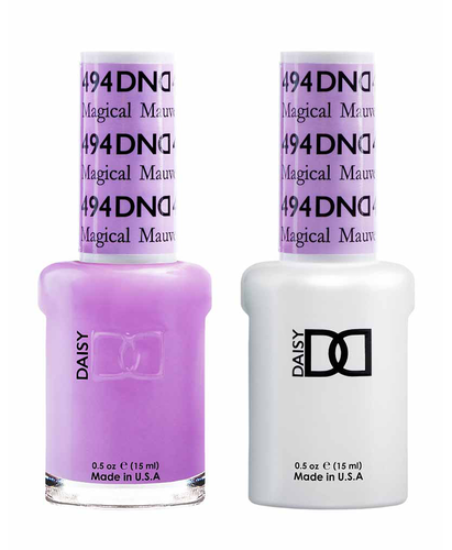 DND Duo Gel - G494 MAGICAL MAUVE