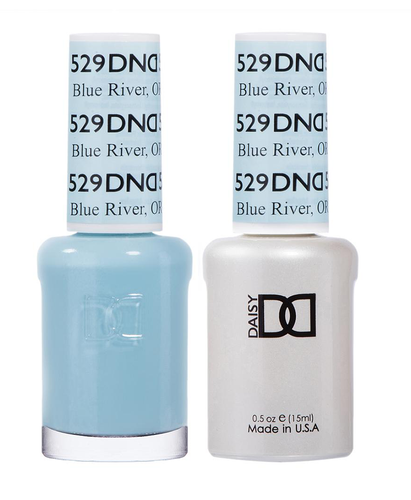 DND Duo Gel - G529 BLUE RIVER, OR