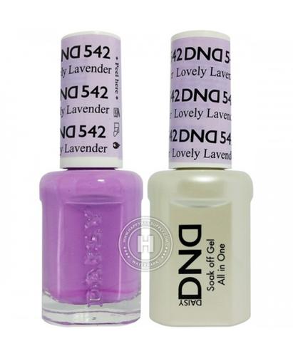 DND Duo Gel - #542 LOVELY LAVENDER