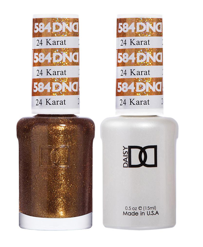 DND Duo Gel - G584 24 KARAT