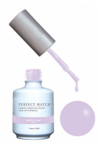 PERFECT MATCH Gel Polish + Lacquer -  PMS170 Mystic Lilac