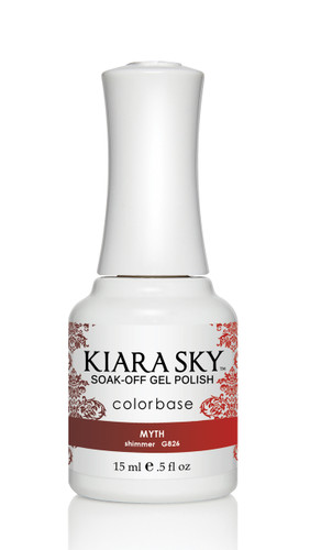 Kiara Sky Ombre Color Changing Gel Polish - G826 Myth .5oz