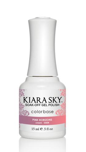 Kiara Sky Ombre Color Changing Gel Polish - G828 Pink Horizons .5oz