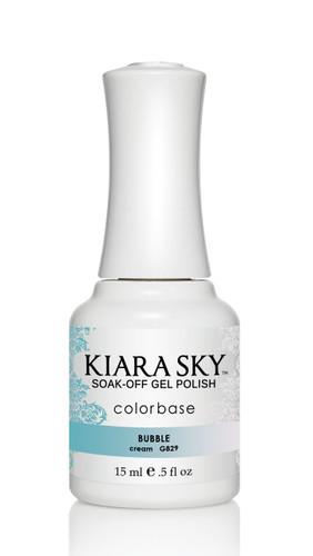 Kiara Sky Ombre Color Changing Gel Polish - G829 Bubble .5oz
