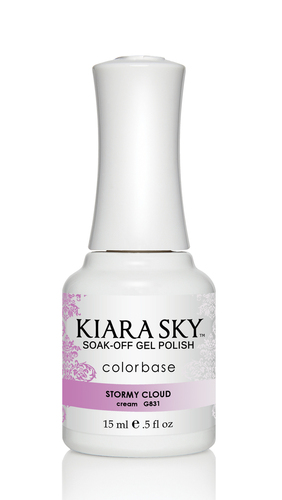 Kiara Sky Ombre Color Changing Gel Polish - G831 Stormy Cloud .5oz