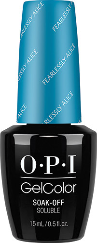 OPI GelColor (BLK) - #GCBA5 - Fearlessly Alice - Alice in Wonderland Collection .5 oz