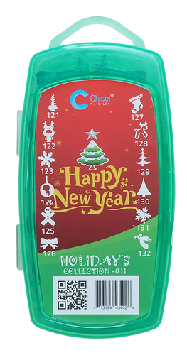 50% Off Chisel 3D Stamp - #011 New Year Collection