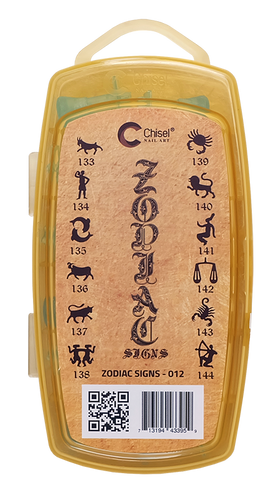 20% Off Chisel 3D Stamp - #012 Zodiac Collection