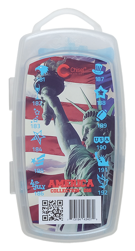 20% Off Chisel 3D Stamp - #016 America Collection