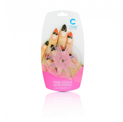50% Off Chisel Nail Art - Heart Edger Pink