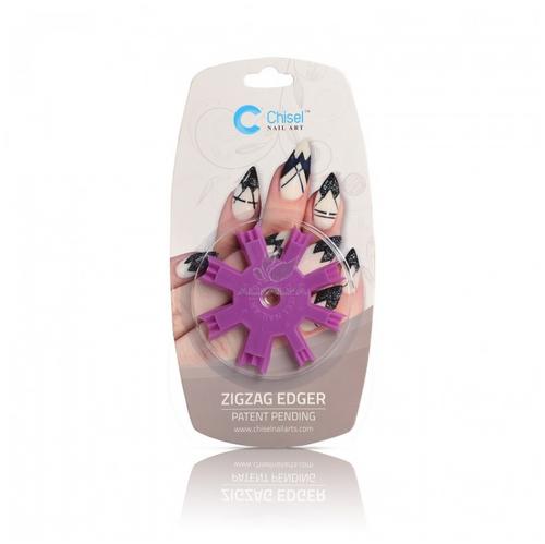 50% Off Chisel Nail Art - Zigzag Edger Purple