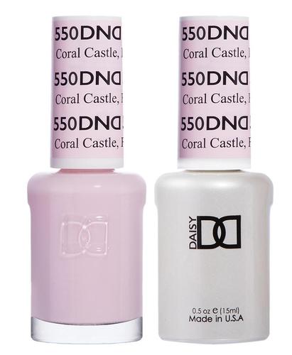 DND Duo Gel - G550 CORAL CASTLE, FL