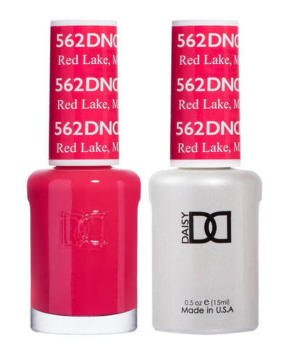DND Duo Gel - G562 RED LAKE