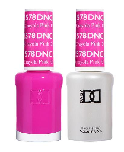 DND Duo Gel - #578 CRAYOLA PINK