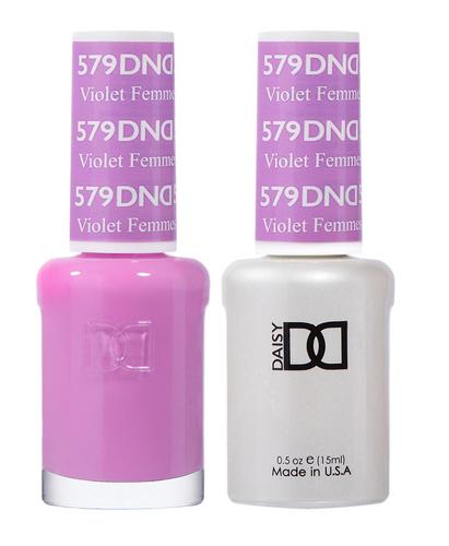 DND Duo Gel - G579 VIOLET FEMMES