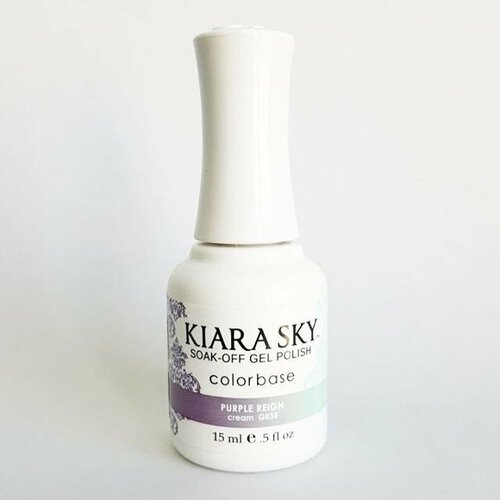 Kiara Sky Ombre Color Changing Gel Polish - G835 Purple Reign .5oz