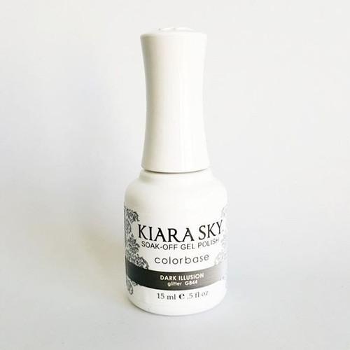Kiara Sky Ombre Color Changing Gel Polish - G844 Dark Illusion .5oz