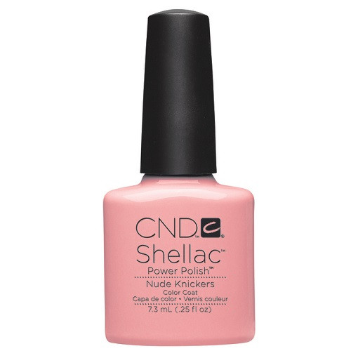 CND SHELLAC UV Color Coat - #90485 Nude Knickers .25 oz