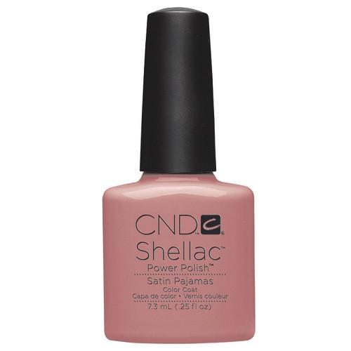 CND SHELLAC UV Color Coat - #90486 Satin Pajamas .25 oz